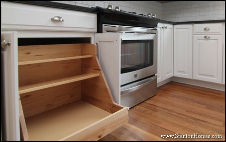 Kitchen Storage Ideas | NC Home Builder