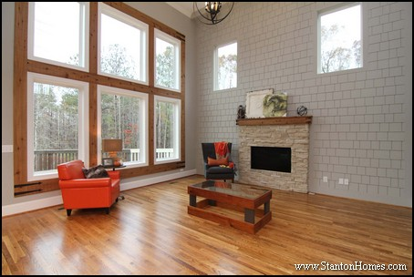 Mountain House Photos in Raleigh NC   7 Great Room Window Ideas