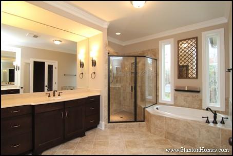 Superbe Classic Master Bathroom Design Ideas | Cary NC Custom Homes