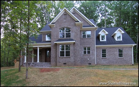 Dual Front Entry   Two Door Home Entry