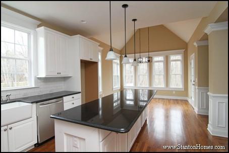 Raleigh Custom Kitchen Color Trends Light Cabinets Dark