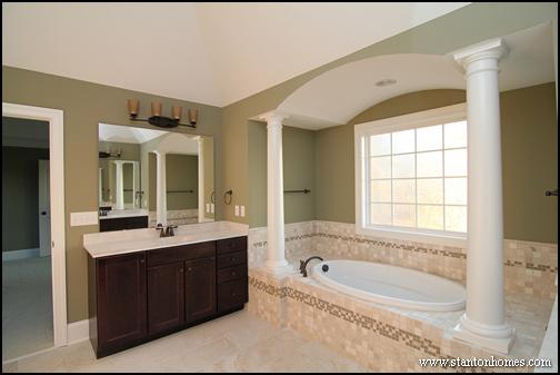 Types of Interior Columns   NC New Custom Homes