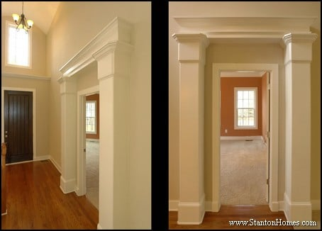Types Of Interior Columns | NC New Custom Homes