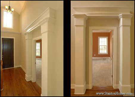 Interior Columns Photos | Raleigh New Homes