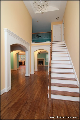 types of interior columns nc new custom homes - Pictures Of New Homes Interior