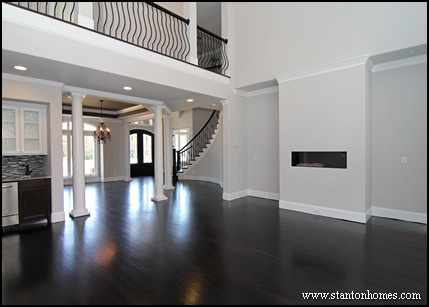 Types of Interior Columns | NC New Custom Homes