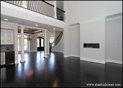 Interior Columns Photos | Raleigh New Homes