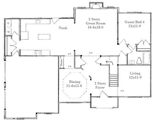 Custom Home Floor Plans | Raleigh Floor Plans