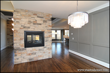Wainscoting Trim for Walls | Triangle New Home Builders