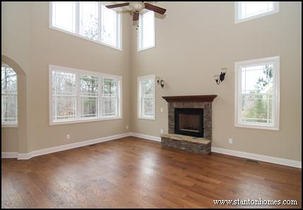 Wood Burning Fireplaces | North Carolina Custom Homes