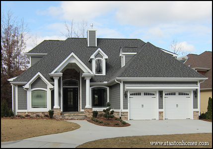 Modern Fireplace Chimneys   Raleigh New Homes