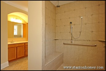 Accessible bathroom shower designs wheelchair accessible homes - Easily accessible bathroom designs guide ...