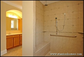 Accessible Bathroom Shower Designs | Wheelchair Accessible Homes