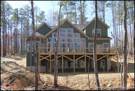 Modern Chimney Styles | Fireplace Chimneys on Raleigh New Homes