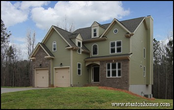 Modern Chimney Styles   Fireplace Chimneys on Raleigh New Homes