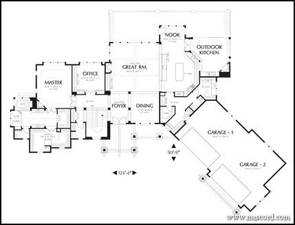 craftsman floor plans. Craftsman Home Plans By Alan Mascord   North Carolina Homes Floor