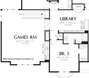 11 floor plans that say come over for the game custom homes in - 3 Bedroom House Plans With Rec Room