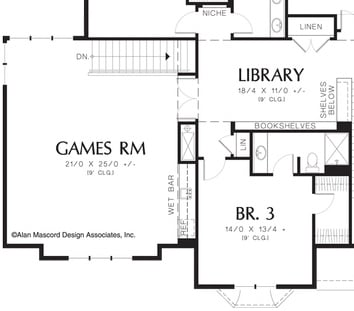 """11 Floor Plans that Say """"Come Over for the Game""""   Custom homes in Raleigh NC"""
