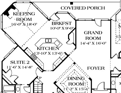 "11 floor plans that say ""come over for the game"""
