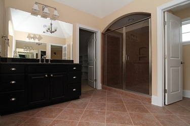 2014 Master Bathroom Tile Trends   NC New Home Shower Styles