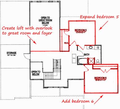 How to modify a floor plan