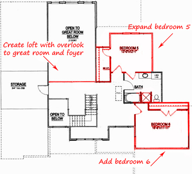 How to modify a floor plan