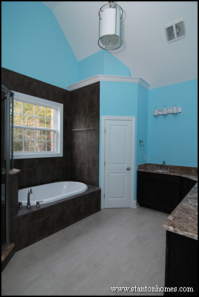 What you should think twice about putting in your master bathroom