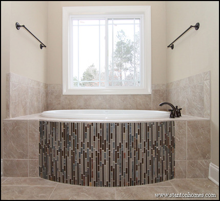 Tile Bathtub Surrounds | Raleigh Custom Homes