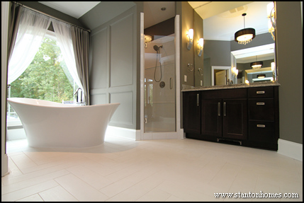 Master Bath New Home Trends | Apex Home Builders