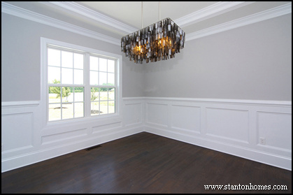 13 top wainscoting ideas raleigh new home builders - Wainscoting Design Ideas