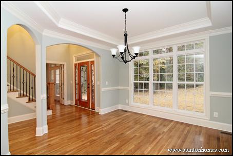Trey Ceiling Photos   Chapel Hill New Homes