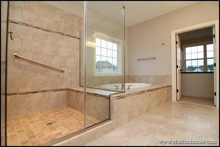 Elegant 14 Steamy Showers For 2014 Custom Homes