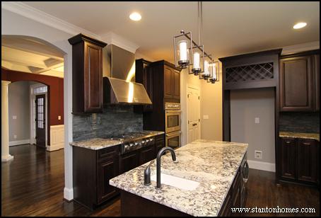 14 Island kitchen designs for 2014 Chapel Hill custom homes