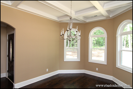 Coffered Ceiling Home Design   Formal Dining Rooms