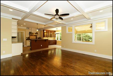 Ceiling Treatment Ideas   Custom Home Builders Raleigh