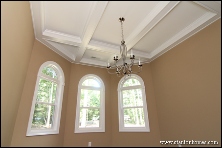 Coffered ceiling home design photos