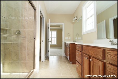 No Tub In Master Bath New Home Trends - Bathroom without tub ideas