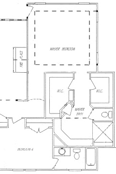 Master Bath Designs Without A Tub Focus On Master Showers - Small bathroom layout with tub and shower
