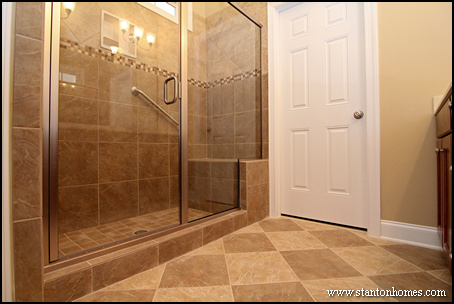 Master Bathrooms Without Tub Euffslemanicom - Bathroom designs without tub