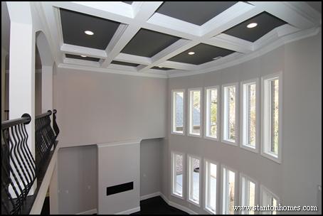 Coffered ceiling home design photos