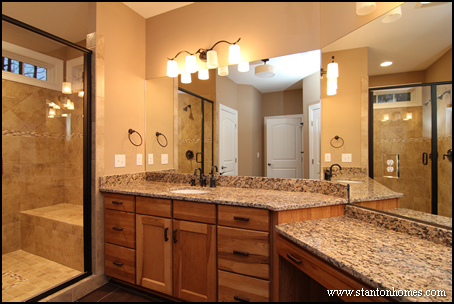 Master Bath New Home Trends   Orange County Home Builders