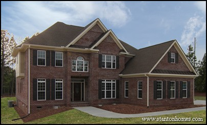 Brick Homes in Raleigh | Favorite Brick Home Designs