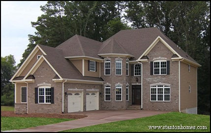 Brick Homes in Raleigh - Favorite Brick Home Designs