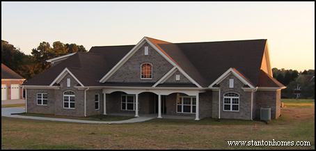Brick Homes in Raleigh - Favorite Brick Home Designs
