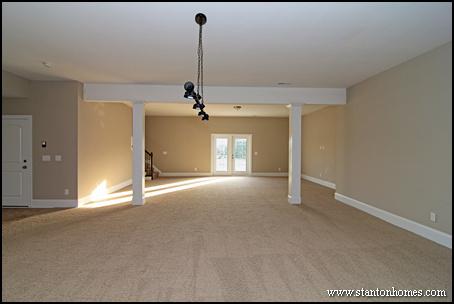 Is a basement a better investment than a bonus room? Raleigh Basement Homes