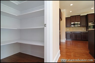 Walk in Pantry Ideas 2017 | Raleigh Custom Homes