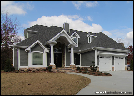 Merveilleux ... Most Popular Craftsman Home Design | Raleigh New Home Builders