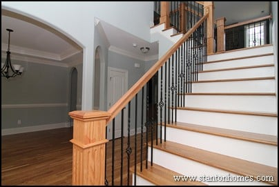 Custom staircase photos and ideas | Top staircase trends in custom homes