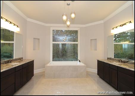 Master bath lighting trends