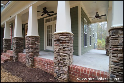 Craftsman Front Porches | New Homes with a Porch